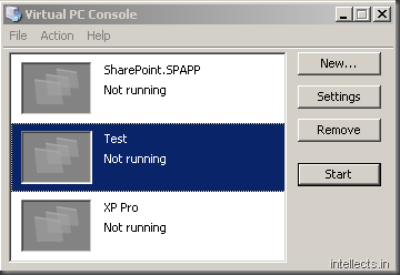 image thumb6 Using Virtualization for Rapid SharePoint Development