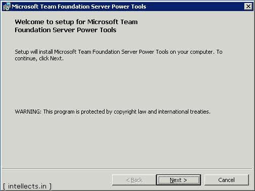 tfspowertoolsinstallation 00 0000 thumb TFS 2005 Customize Work Item Template and Process Template   Part I