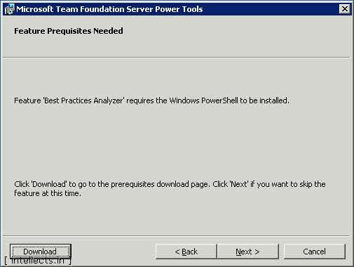 tfspowertoolsinstallation 02 0002 thumb TFS 2005 Customize Work Item Template and Process Template   Part I