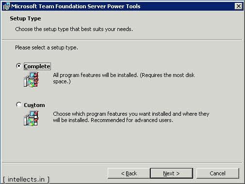 tfspowertoolsinstallation 03 0003 thumb TFS 2005 Customize Work Item Template and Process Template   Part I
