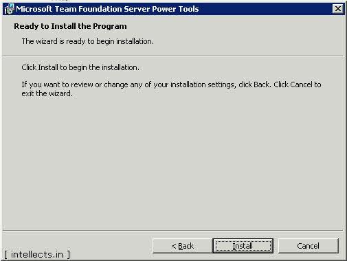tfspowertoolsinstallation 04 0004 thumb TFS 2005 Customize Work Item Template and Process Template   Part I
