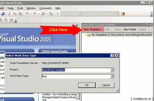 tfspowertoolsusing 03 thumb TFS 2005 Customize Work Item Template and Process Template   Part I
