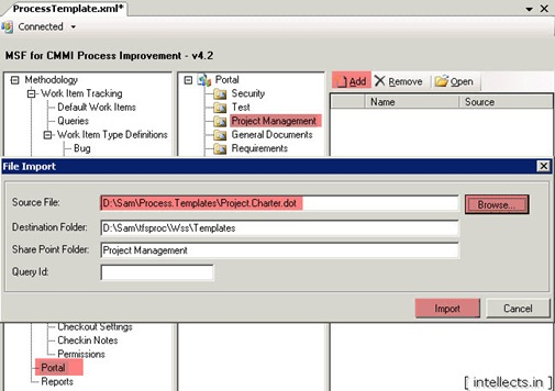 tfsprocesseditortemplate10 thumb TFS 2005 Customize Work Item Template and Process Template   Part III