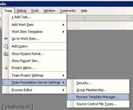 tfsprocesseditortemplate17 thumb TFS 2005 Customize Work Item Template and Process Template   Part III
