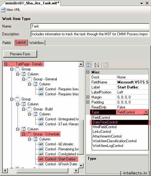 tfsprocesseditorwit07 thumb TFS 2005 Customize Work Item Template and Process Template   Part II