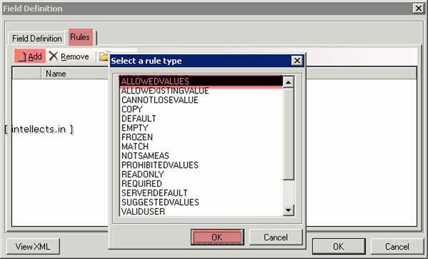 tfsprocesseditorwit12 thumb TFS 2005 Customize Work Item Template and Process Template   Part II