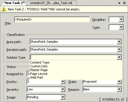 tfsprocesseditorwit31 thumb TFS 2005 Customize Work Item Template and Process Template   Part II