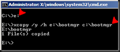 image thumb6 Boot From VHD   Replacing Vista or Windows 2008 Bootloader with Windows 7 Bootloader